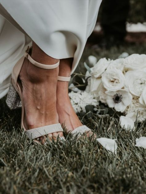 #ad @pashionfootwear launched the FIRST EVER fully Convertible #HighHeel. Say Bye to Back Up Shoes Ladies! The #Bridal Collection comes in tons of 'I Do' Styles. A plethora of colors  accents to choose from. From blingy, rhinestone renditions to mother of #pearl pretties, whether you're getting married on the #beach, in a #barn, or at a #church, you can be sure your #shoe fits for the occasion. #Shoes #WeddingShoes #BrideStyle #WeddingFashion #Stilettos #Flats #ShoeAddict #Wedding