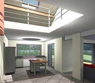 plan de maison contemporaine avec mezzanine 1 plans pinterest - Plan De Maison Avec Mezzanine
