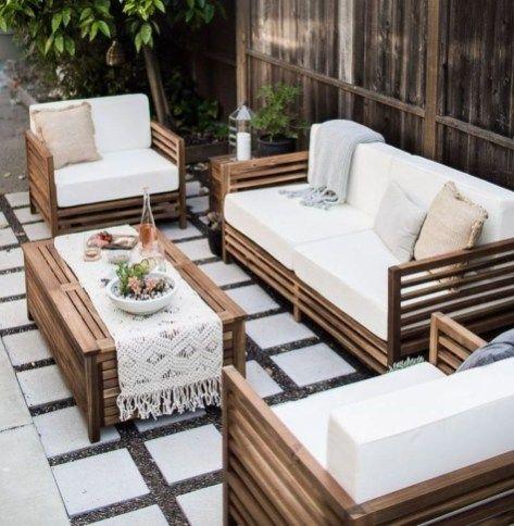 45 Gorgeous Patio Garden Furniture Ideas Outdoor Furniture Sets Patio Furniture Sets Patio Decor