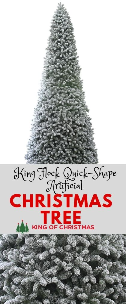 Scarlet Fir Artificial Christmas Tree King Of Christmas Artificial Christmas Tree Flocked Christmas Trees Fir Christmas Tree