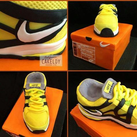 3 D Adidas Shoe Cake, Cakes By Nette (With images) | Shoe