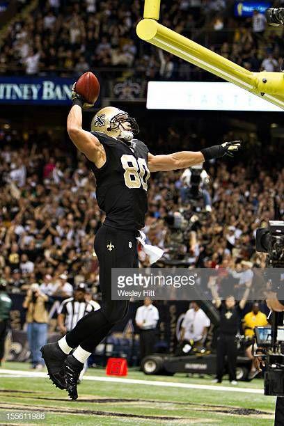 Jimmy Graham Of The New Orleans Saints Dunks The Football After New Orleans Saints New Orleans Saints Football New Orleans