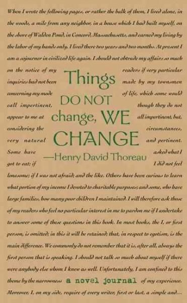 Oft-quoted transcendentalist Henry David Thoreau is perhaps best