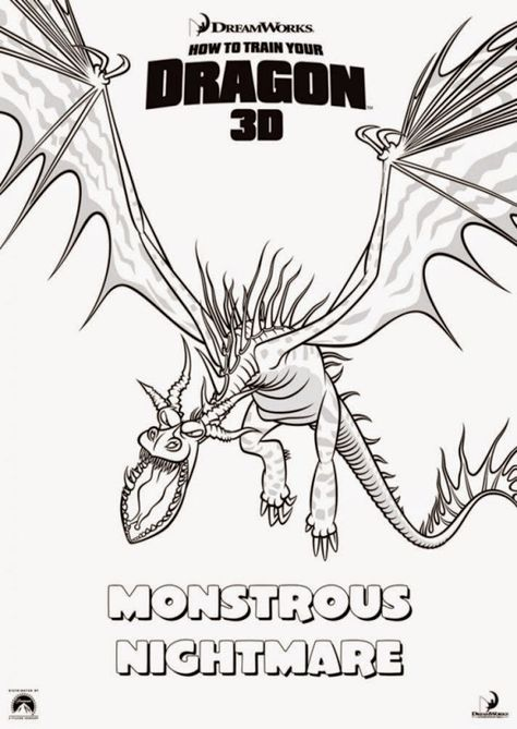Timberjack Dragon u2022 View topic - What dragon is yours from How - new how to train your dragon screaming death coloring pages