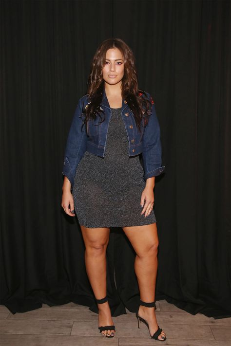 NEW YORK, NY - SEPTEMBER 14:  Model Ashley Graham poses backstage before the Addition Elle/Ashley Graham Lingerie Collection fashion show during the Holiday 2016 Style 360 NYFW at Metropolitan West on September 14, 2016 in New York City.  (Photo by Mireya Acierto/Getty Images) via @AOL_Lifestyle Read more: http://www.aol.com/article/2016/09/19/handm-pulls-plus-size-clothes-from-some-of-its-stores/21475017/?a_dgi=aolshare_pinterest#fullscreen