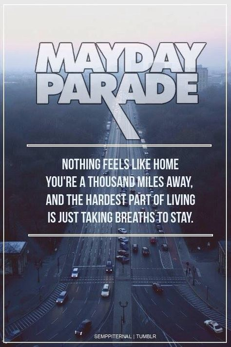 THEY SHALL GO ON STAGE AGAIN: MAYDAY PARADE http://punkpedia.com/punk-rock-bands/they-shall-go-on-stage-again-mayday-parade-7010/