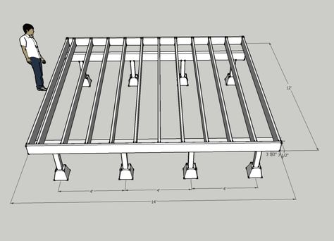 Free 3D Cabin Foundation Design - Easy & Cheap - Solar Burrito