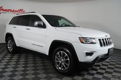 Ebay Jeep Grand Cherokee Limited 4wd V6 Ecodiesel Suv Leather