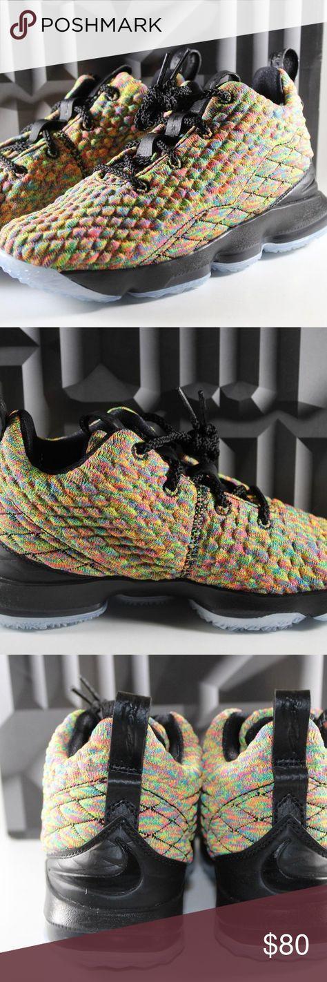 e8f927f2e47 Nike Lebron XV Kids Shoes Sz 2Y Fruity Peebles Nike Lebron XV Kids Shoes Sz  2Y