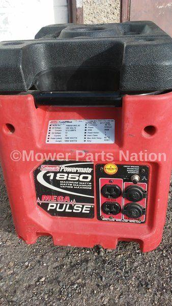 Coleman Generator Model PM0401853 02 Powermate 1850