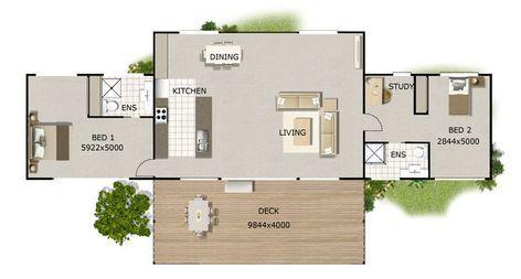 Kit Homes Modern Designs Au 170 Sq Meters Open House Plans House Plans Australia Bedroom House Plans