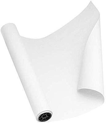 Amazon Com White Kraft Paper Roll 30 By 150 Feet 1800 Inches Made In Usa Craft Paper Roll White Wrapp White Wrapping Paper Paper Crafts Kraft Paper Tags