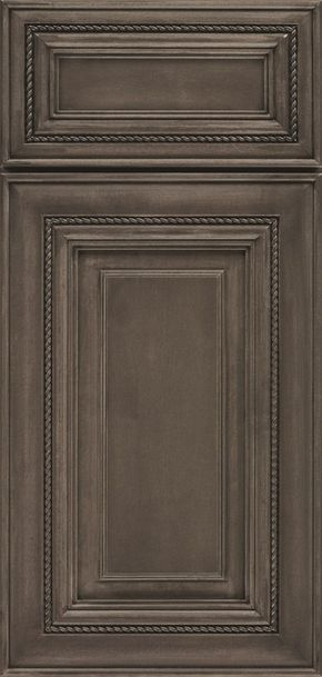 Melbourne Raised Panel Cabinet Doors Have A Rich Design Featuring Rope Inset And Square Raised Center Pa Staining Cabinets Taupe Kitchen Cabinets Taupe Kitchen