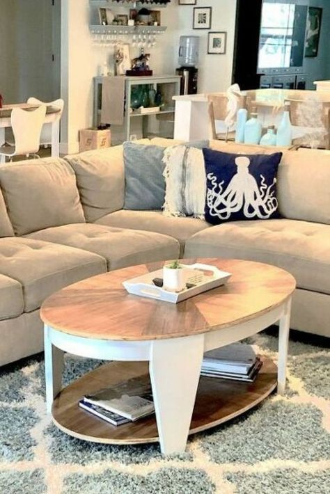 Is Your Coffee Table All Scratched Up Check Out This Oval Coffee