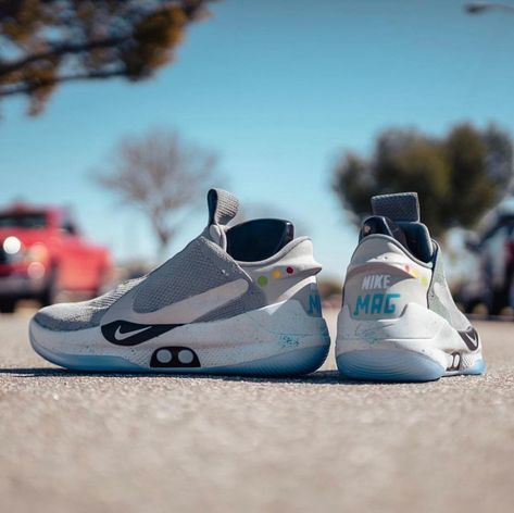 Nike Mag Latest Nike Mag for Sales #nike #nikemag | White