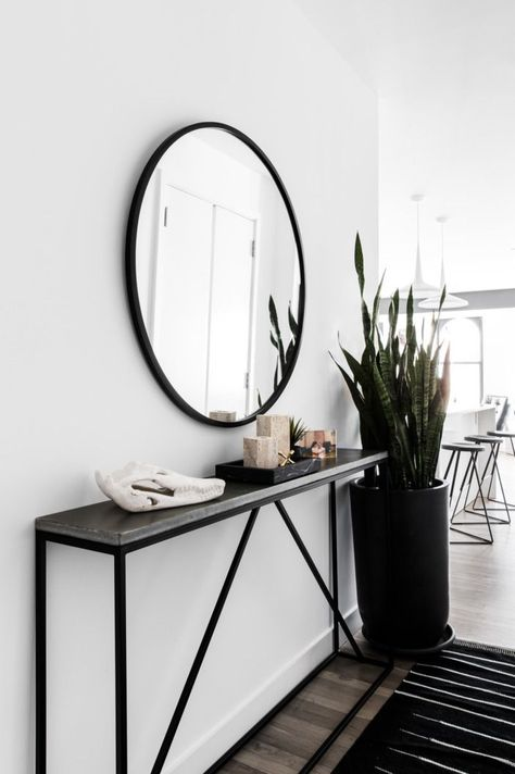 Here you need to give lots of concentration over compatibility and the maintenance of overall appearance of your home. But black and white home décor is also not as tough as it sounds; you can bring life and light to your black and white space with just a little effort.