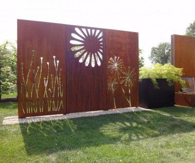 Sichtschutz Modern Eolas Garten Sichtschutz Im Freien Wandkunst Aus Metall Sichtschutz Garten Gunstig
