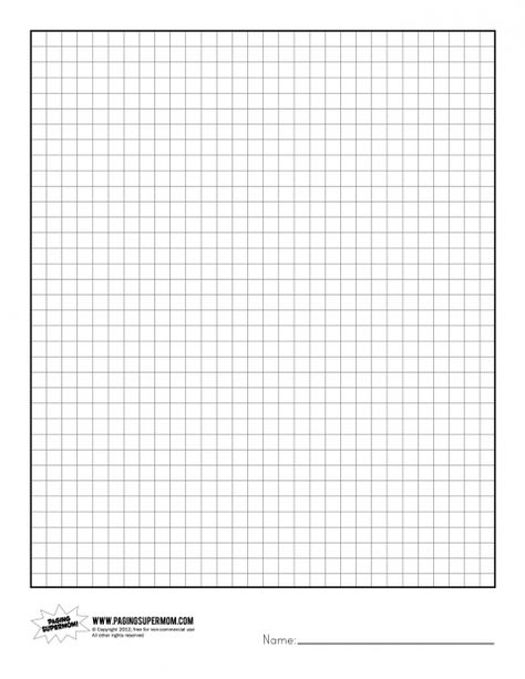 The  Cm Graph Paper With Black Lines A Size A Math