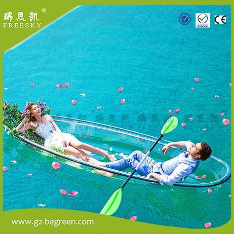 Inflatable Clear Bottom Boat Molokini Kayak Molokini Kayak