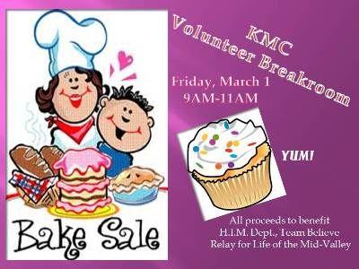 bake sale flyer Relay for Life Pinterest Bake sale flyer - bake sale flyer