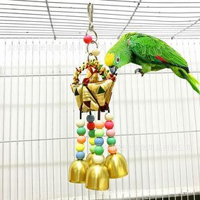 China Wholesale Online Buying Chinese Products In 2020 Bird Toys Bird Supplies Colorful Beads
