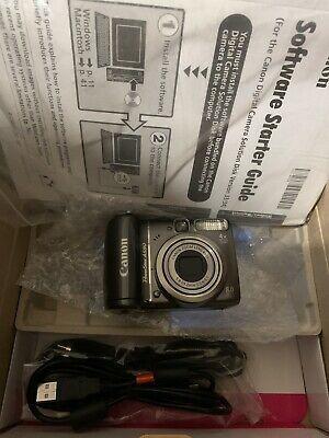 Canon Powershot A590 Is Digital Camera Grey 8 0 Mp 4x Camera Digital Camera Powershot