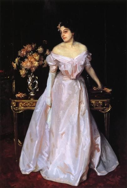 Hylda, Daughter of Asher and Mrs. Wertheimer - John Singer Sargent