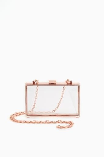 Crystal Glimmer Clutch