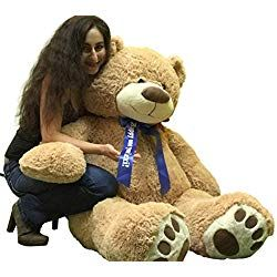 Personalized Valentine S Day Teddy Bears Let S Personalize That Giant Teddy Bear Bear Stuffed Animal Teddy Bear