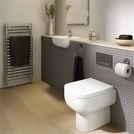 rak series 600 back to wall btw pan with soft close seat