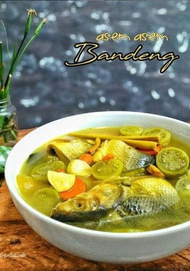 Asem Asem Bandeng : bandeng, Resep, Bandeng, Masakan,, Masakan, Indonesia,