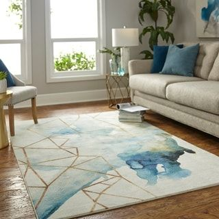 Pin By Fatmh On Room In 2021 Area Rugs Mohawk Home Blue Area Rugs