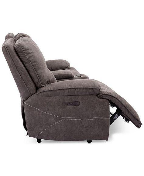 Astonishing Furniture Felyx 84 2 Pc Fabric Power Reclining Sofa With Machost Co Dining Chair Design Ideas Machostcouk