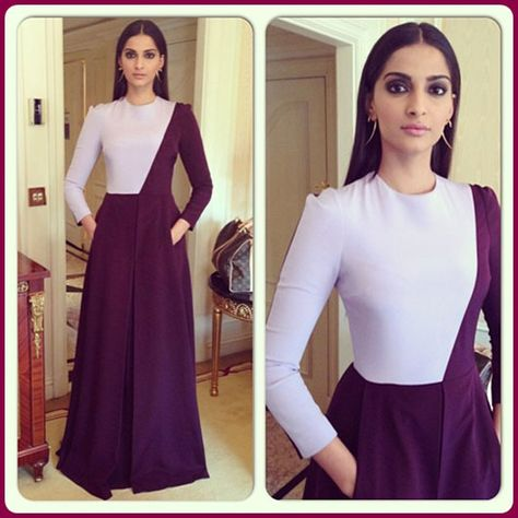 Fashion: Sonam Kapoor In Designers Outfit 2013