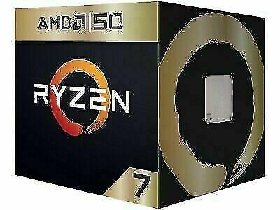 Amd Ryzen 7 2700x Amd50 Gold Edition 3 7 Ghz 4 3 Ghz Max Boost Socket Am4 Yd27 In 2020 Amd Sockets Boosting