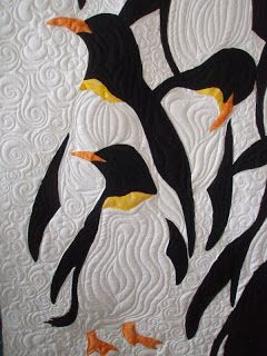 Ramona Quilter Fun With Fabric Another Penguin Quilt
