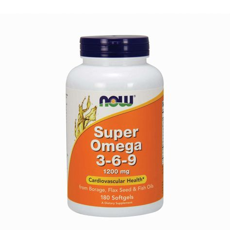 Now Super Omega 3 6 9 1200 Mg Products In 2019 Essential Fatty Acids Borage Oil Omega 3
