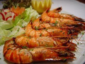 Recette de Crevettes au gingembre et au citron vert