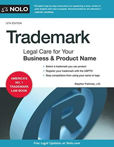 Trademark Legal Care For Your Business Product Name In 2021 Law Books Business Law Legal Forms