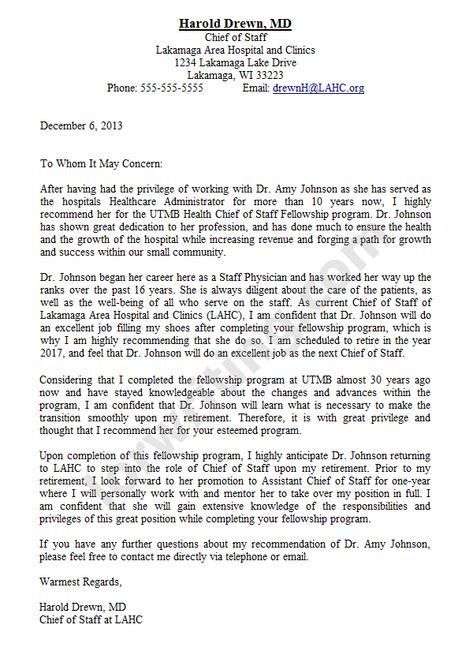 sample recommendation letter - Google Search | Letter of ...