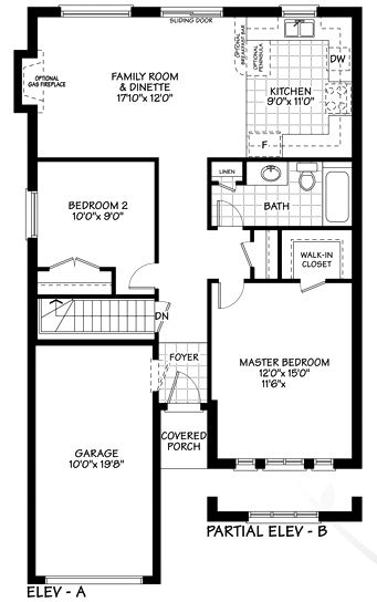 View Main Floor Plan Small Cottage Plans Floor Plans House Plans