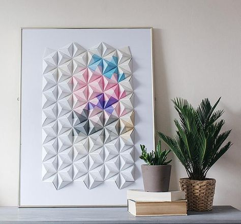 As a paper artist, I am constantly experimenting with new ways to use origami that showcase the...