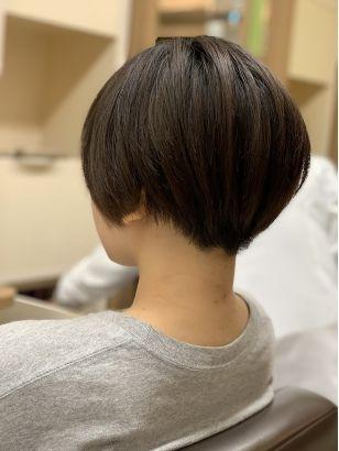 レディース刈り上げマッシュショート ショート 刈り上げ ビューティー 髪型
