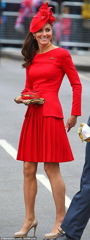 The Duchess of Cambridge wears Alexander McQueen for The Queen's Diamond Jubilee