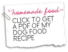 Click to get a pdf of my homemade dog food recipe doggy gifts click to get a pdf of my homemade dog food recipe doggy gifts and ideas pinterest dog food recipes homemade dog food and homemade dog forumfinder Image collections