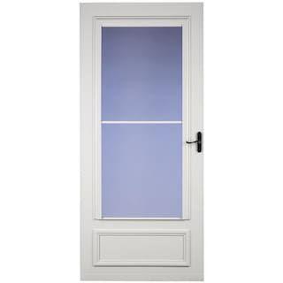Larson Royal Oak Screen Away Mid View Storm And Screen Door With Aged Bronze Handle At Menar Storm Doors With Screens Security Storm Doors Larson Storm Doors