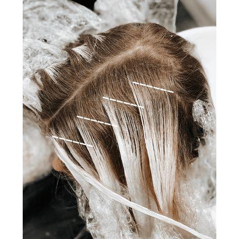 Hair Color Streaks, Hair Color Highlights, Ombre Hair Color, Hair Color Balayage, How To Bayalage Hair, Hair Foils, Brunette Highlights, Blonde Balayage, Blond Ash