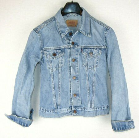 Levi S Womens Vintage Light Blue Denim Stonewash Jean Jacket For Girls Jean Jacket For Girls Light Blue Denim Jackets