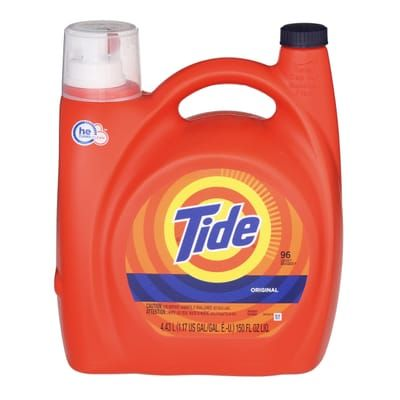 Tide 150 Oz Original Scent He Liquid Laundry Detergent 96 Loads