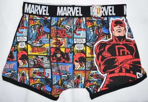 Justice League Mens HIPSTER Boxer Brief Pants Batman Superman Flash Size XL